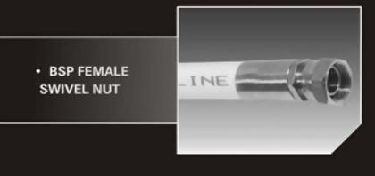 BSP Swivel Female Nut