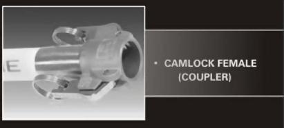 Camlock Female Coupler