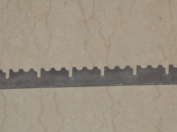 Special Serrated Gratings