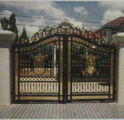 Mild Steel Entrance Gates