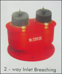 2 Way Inlet Breeching Valves