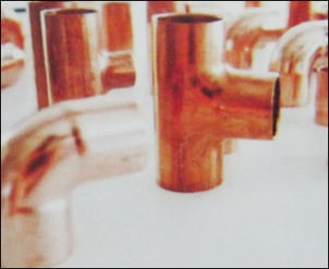 Red Copper Hvac Fittings