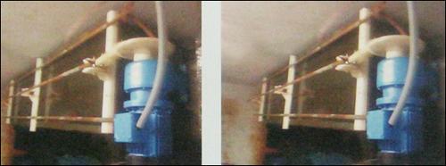 Fully Submerged Motorized Barrel With Vat Moving Work