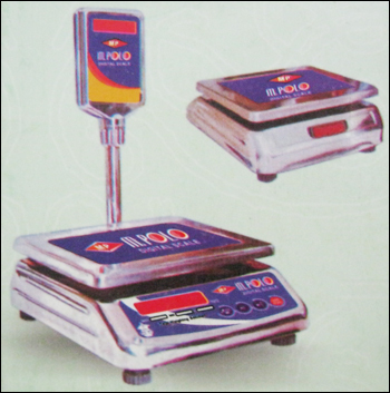 Table Top Ss Body Weighing Machine
