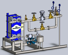 Instant Hot Water Generation System