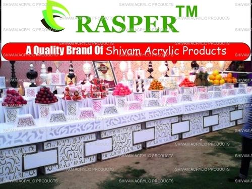 Acrylic Food Counter