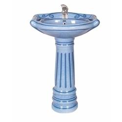 Pedestal Wash Basin Towel Set