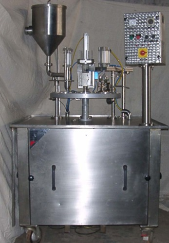 Manual Jar Filling Machine