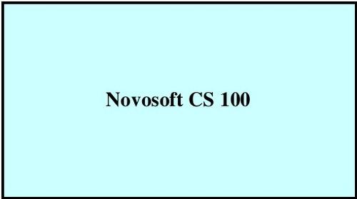 Novosoft CS 100 in   Vadackal Post Office