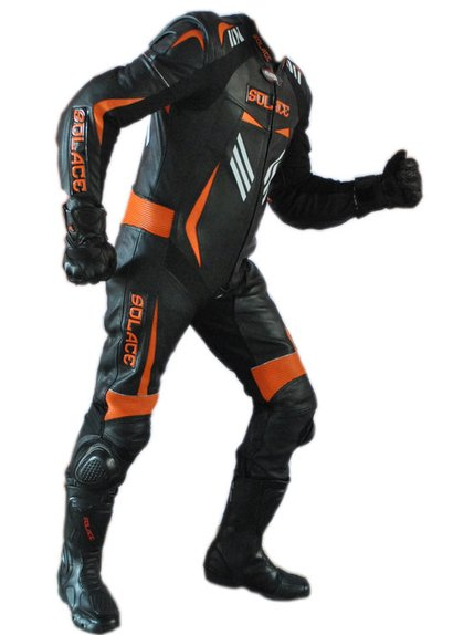 Motorcycle Leather Racing One Piece Suit