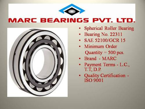 Industrial Spherical Roller Bearing