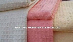 100% Cotton Waffle Thermal Blanket