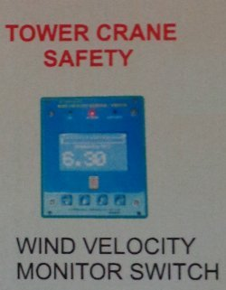 Wind Velocity Monitor Switch