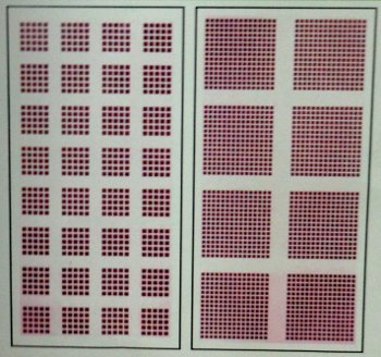 Acoustical Perforated Gypsum Board Panel (Matrix Perforation)