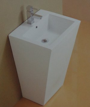 Kubix Floor Standing Wash Basin