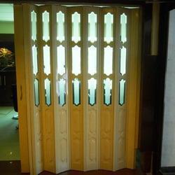 PVC Glass Folding Door