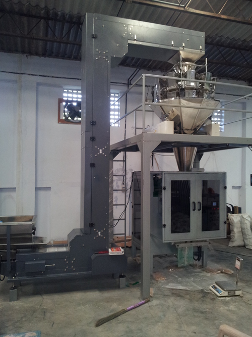 Vertical Form Fill Seal Machine With Weigher