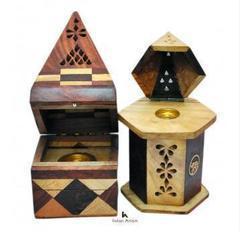 Wooden Cone Burner