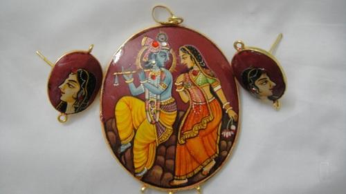 Radha krishna pendant in firozabad uttar pradesh om enterprises radha krishna pendant in tundla aloadofball Images