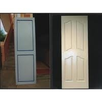 Solid Rigid Pvc Profile Door
