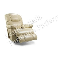 Single Seater Leather Recliner Sofa