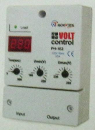 Single Phase Voltage Monitoring Relays (PH-102) - Novatek