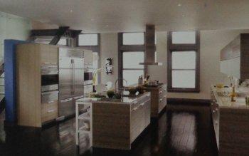 PU Painted Kitchen Shutters