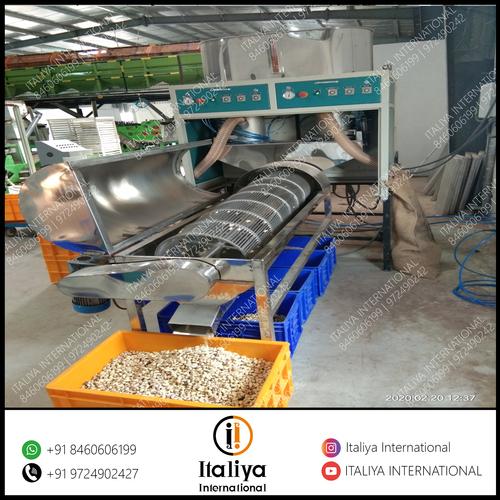 Cashew Peeling Machinery