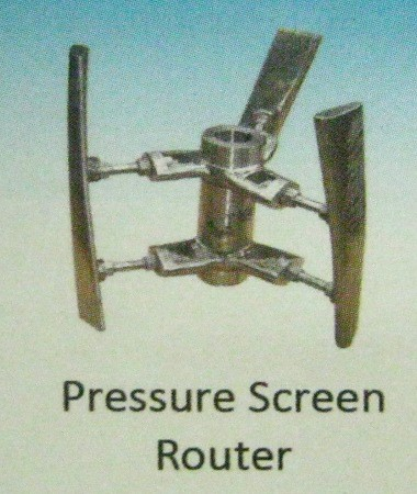 Pressure Screen Router