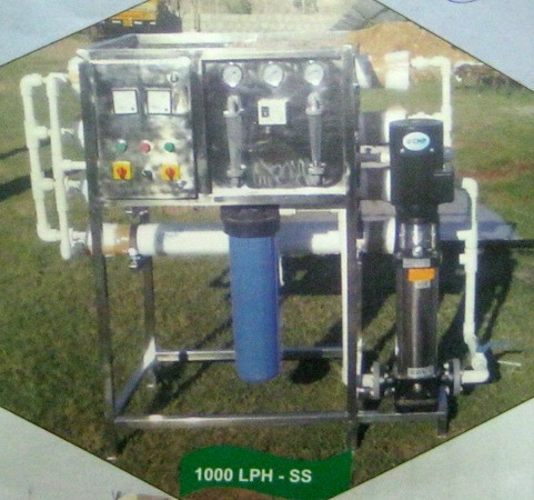 Sand Filter - Stainless Steel (1000 Lph)