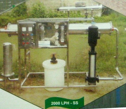 Sand Filter - Stainless Steel (2000 Lph)