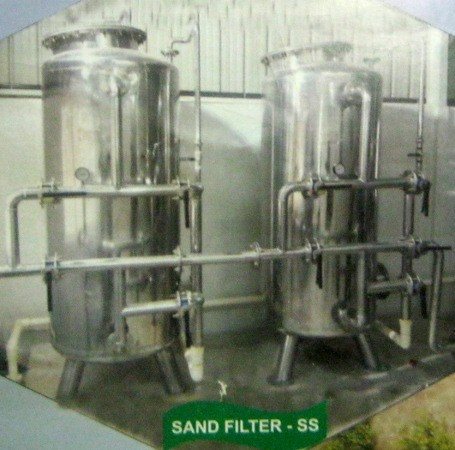 Sand Filter - Stainless Steel