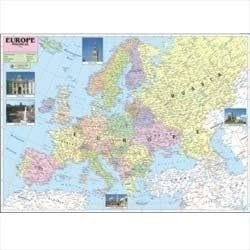 Europe Political Map