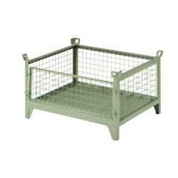 Metallic Storage Bin