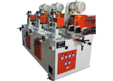 Rod And Tube Polishing And Buffing Machine