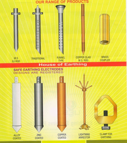 Safe Earthing Electrodes