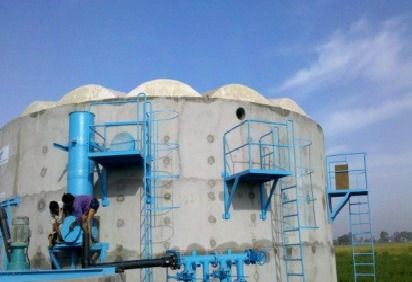 Agro Waste Biogas Plant