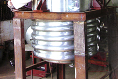 Industrial Reactor With Limpid Coil