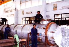 Industrial Top Condenser With Column