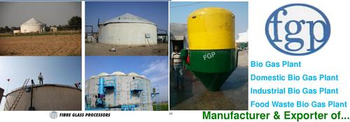 Mini Biogas Plant at Best Price in Rajkot, Gujarat | FIBRE