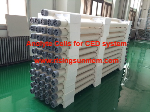Anolyte Cells For CED System