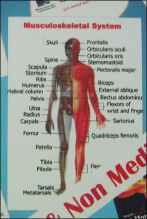 3D Embossed Medical and Non-Medical Promotional Posters