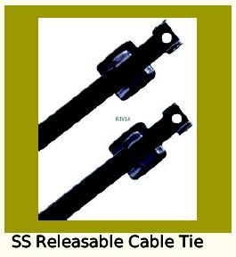 Stainless Steel Releasable Cable Ties