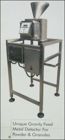 Unique Gravity Feed Metal Detector For Powder And Granules