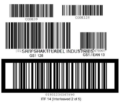 Self Adhesive Barcode Labels