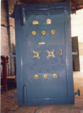 Strong Room Iron Gate