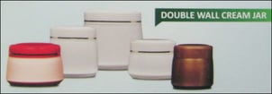 Double Wall Cream Packaging Jars
