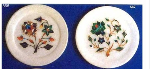 Handmade Marble Home Decoration Plates