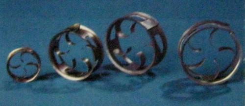 Pe-Metal Small Rings