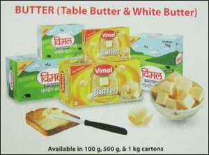 Vimal Table Butter And White Butter
